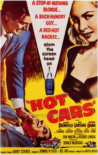 Hot Cars - 43 x 62 Movie Poster - Bus Shelter Style A