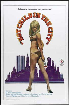 Hot Child in the City - 27 x 40 Movie Poster - Style A