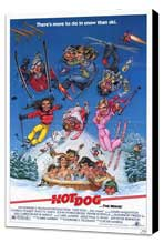 Hot Dog . . . The Movie! - 27 x 40 Movie Poster - Style A - Museum Wrapped Canvas