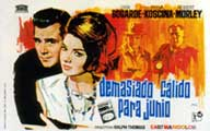 Hot Enough for June - 11 x 17 Movie Poster - Spanish Style B