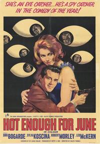 Hot Enough for June - 11 x 17 Movie Poster - Style A