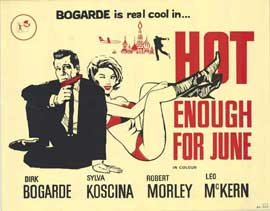 Hot Enough for June - 22 x 28 Movie Poster - Half Sheet Style A