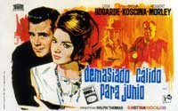 Hot Enough for June - 27 x 40 Movie Poster - Spanish Style A