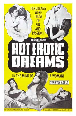 Hot Erotic Dreams - 27 x 40 Movie Poster - Style A