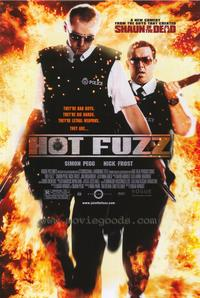Hot Fuzz - 43 x 62 Movie Poster - Bus Shelter Style A