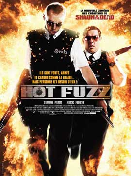 Hot Fuzz - 11 x 17 Movie Poster - French Style A