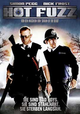 Hot Fuzz - 27 x 40 Movie Poster - German Style B