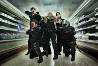 Hot Fuzz - 8 x 10 Color Photo #1
