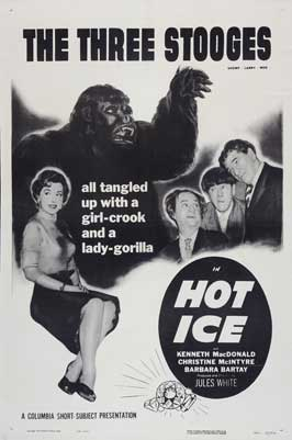 Hot Ice - 11 x 17 Movie Poster - Style A