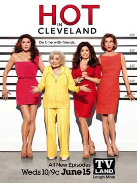 Hot in Cleveland (TV) - 11 x 17 TV Poster - Style C