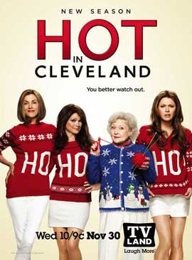 Hot in Cleveland (TV) - 11 x 17 TV Poster - Style D