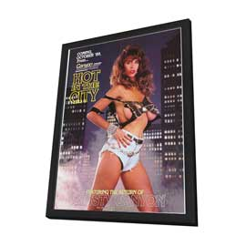 Hot In the City - 11 x 17 Movie Poster - Style A - in Deluxe Wood Frame