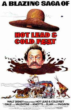 Hot Lead & Cold Feet - 11 x 17 Movie Poster - Style A