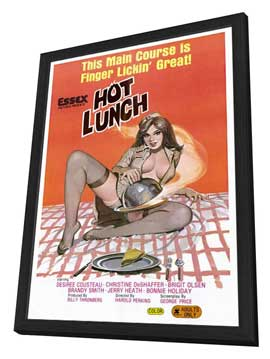 Hot Lunch - 27 x 40 Movie Poster - Style A - in Deluxe Wood Frame