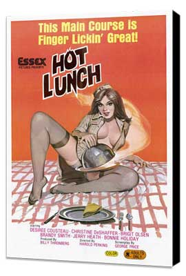 Hot Lunch - 27 x 40 Movie Poster - Style A - Museum Wrapped Canvas