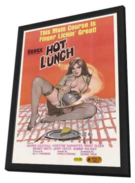 Hot Lunch - 11 x 17 Movie Poster - Style A - in Deluxe Wood Frame