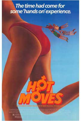 Hot Moves - 27 x 40 Movie Poster - Style A