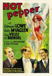 Hot Pepper - 11 x 17 Movie Poster - Style A