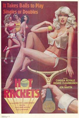Hot Rackets - 11 x 17 Movie Poster - Style A