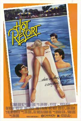 Hot Resort - 11 x 17 Movie Poster - Style A