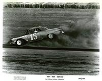Hot Rod Action - 8 x 10 B&W Photo #1