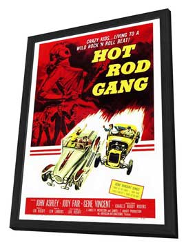 Hot Rod Gang - 27 x 40 Movie Poster - Style A - in Deluxe Wood Frame