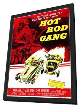 Hot Rod Gang - 11 x 17 Movie Poster - Style A - in Deluxe Wood Frame
