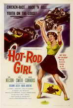 Hot Rod Girl - 27 x 40 Movie Poster