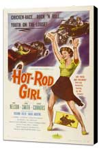 Hot Rod Girl - 27 x 40 Movie Poster - Style A - Museum Wrapped Canvas