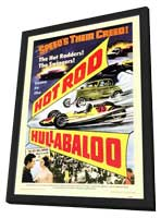 Hot Rod Hullabaloo - 11 x 17 Movie Poster - Style A - in Deluxe Wood Frame