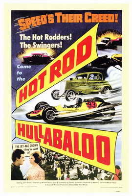 Hot Rod Hullabaloo - 27 x 40 Movie Poster - Style A