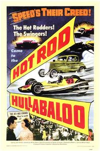 Hot Rod Hullabaloo - 43 x 62 Movie Poster - Bus Shelter Style A