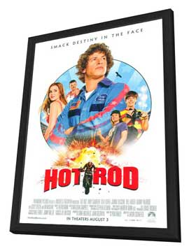 Hot Rod - 11 x 17 Movie Poster - Style A - in Deluxe Wood Frame