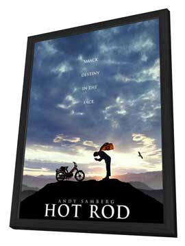 Hot Rod - 11 x 17 Movie Poster - Style B - in Deluxe Wood Frame