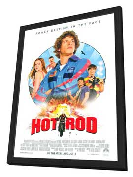 Hot Rod - 27 x 40 Movie Poster - Style A - in Deluxe Wood Frame