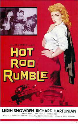 Hot Rod Rumble - 11 x 17 Movie Poster - Style A