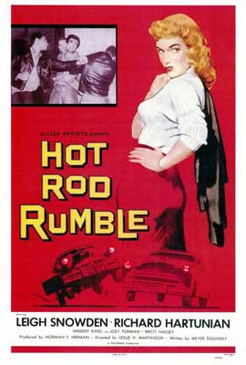 Hot Rod Rumble - 27 x 40 Movie Poster - Style A