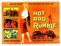 Hot Rod Rumble - 30 x 40 Movie Poster UK - Style A