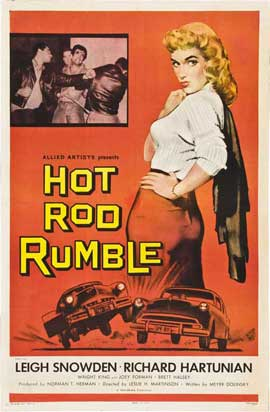 Hot Rod Rumble - 11 x 17 Movie Poster - Style B