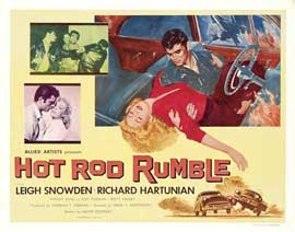 Hot Rod Rumble - 11 x 14 Movie Poster - Style B