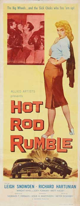 Hot Rod Rumble - 14 x 36 Movie Poster - Insert Style A