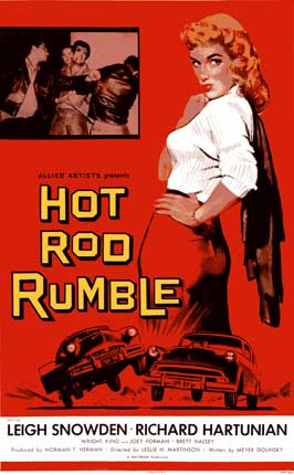 Hot Rod Rumble - 11 x 17 Movie Poster - Style C