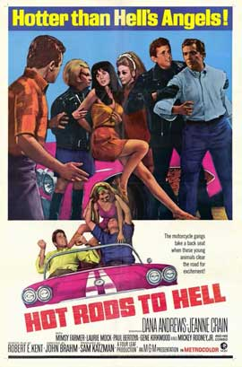 Hot Rods to Hell - 11 x 17 Movie Poster - Style A