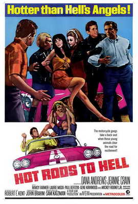 Hot Rods to Hell - 27 x 40 Movie Poster - Style A
