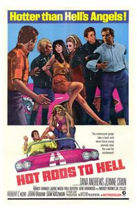 Hot Rods to Hell - 43 x 62 Movie Poster - Bus Shelter Style A