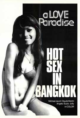 Hot Sex In Bangkok - 11 x 17 Movie Poster - Style A