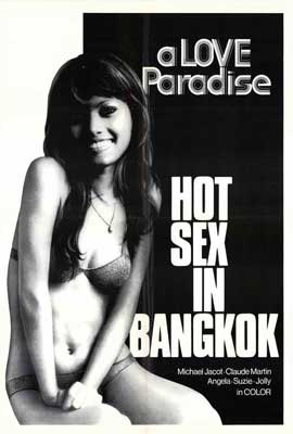 Hot Sex In Bangkok - 27 x 40 Movie Poster - Style A