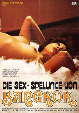Hot Sex In Bangkok - 27 x 40 Movie Poster - Swiss Style A