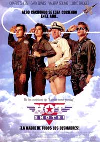 Hot Shots! - 27 x 40 Movie Poster - Spanish Style A