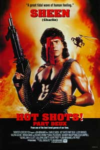 Hot Shots! Part Deux - 11 x 17 Movie Poster - Style A